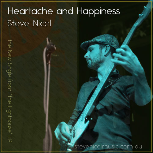 """Heartache and Happiness"" Cover art for the new single"