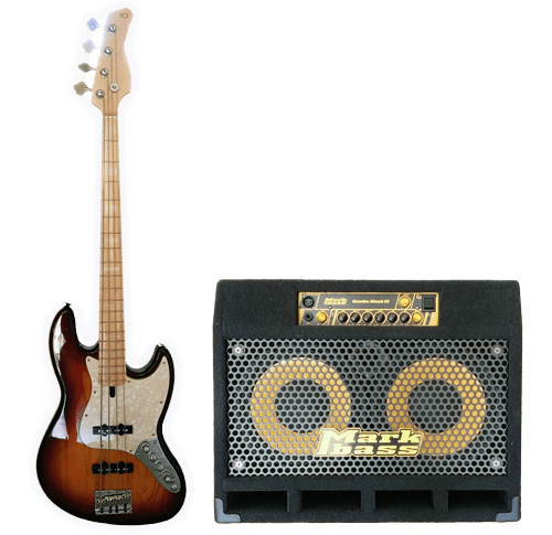 Steve Nicel's V7 Bass and MarkBass Amp